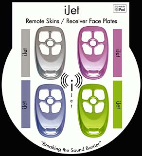 iJet Remote Skins and Receive Face Plates